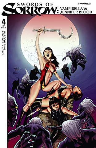 Swords of Sorrow: Vampirella & Jennifer Blood No.4 (sur 4): Digital Exclusive Edition