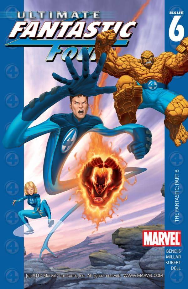 Ultimate Fantastic Four #6