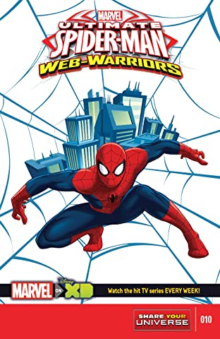 Marvel Universe Ultimate Spider-Man: Web Warriors (2014-2015) #10