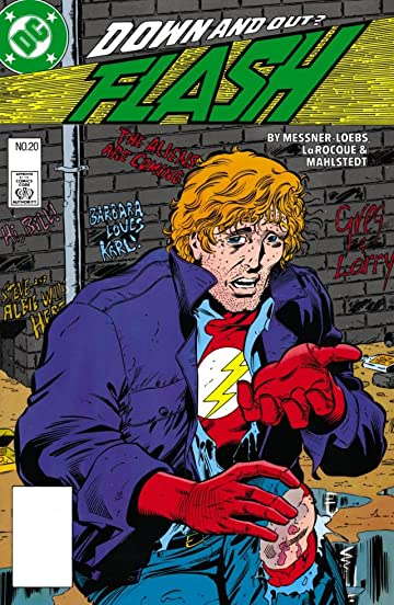 The Flash (1987-2009) #20