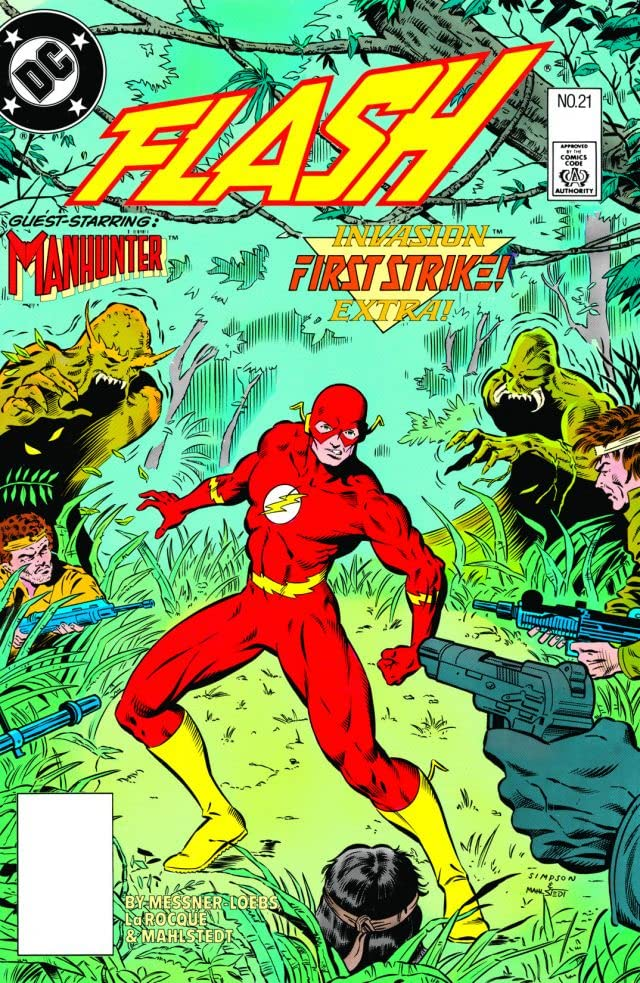 The Flash (1987-2009) #21