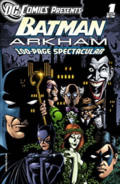 DC Comics Presents: Batman- Arkham No.1