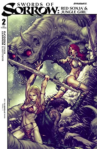 Swords of Sorrow: Red Sonja & Jungle Girl No.2 (sur 3)