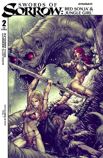 Swords of Sorrow: Red Sonja & Jungle Girl No.2 (sur 3)