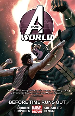 Avengers World Tome 4: Before Time Runs Out