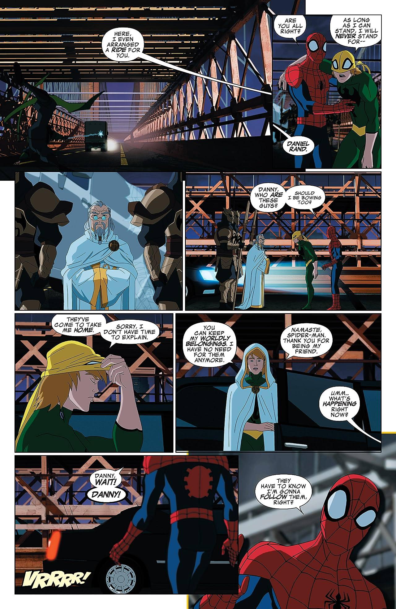 Marvel Universe Ultimate Spider-Man: Web Warriors Vol. 2