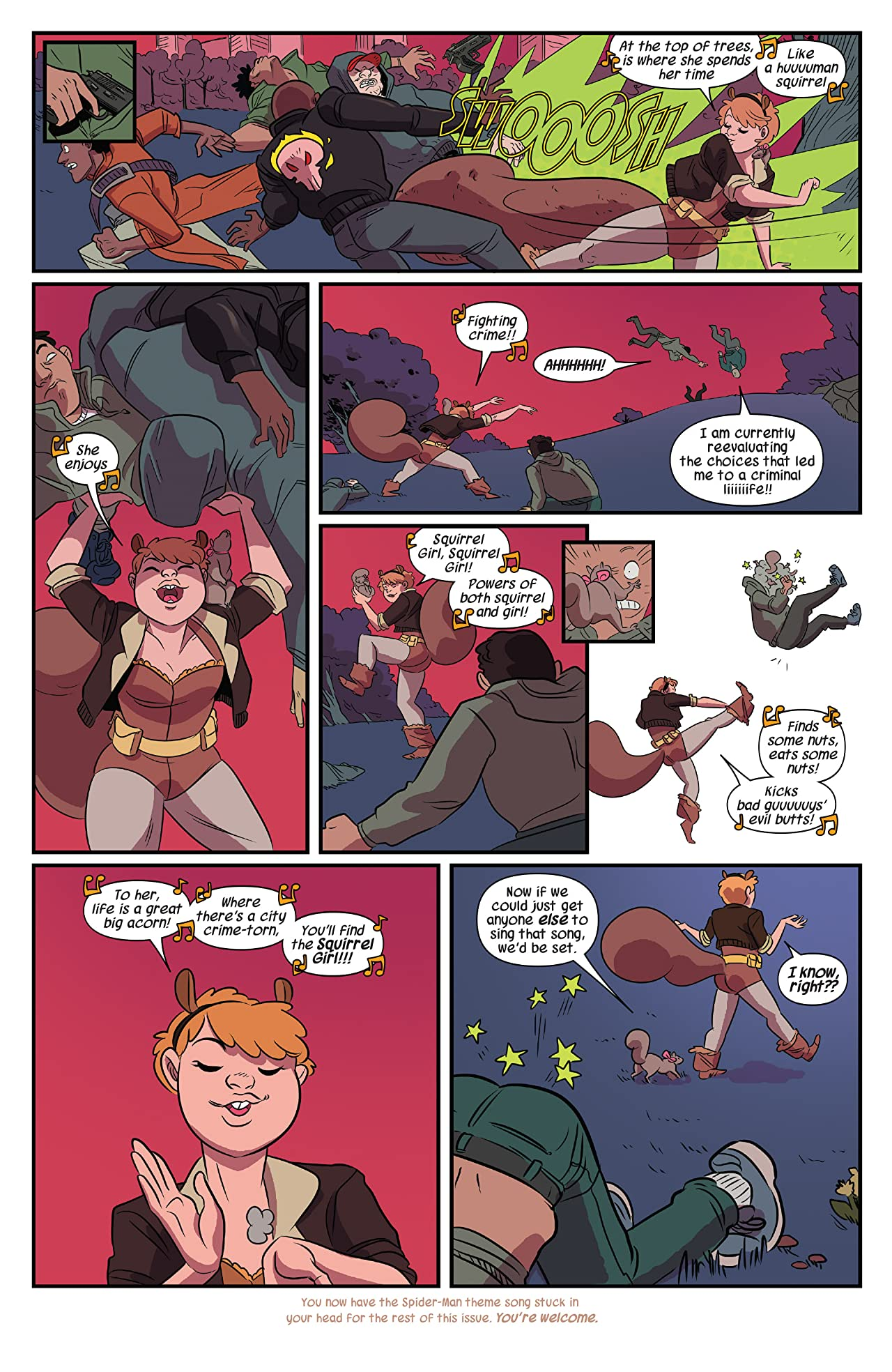 The Unbeatable Squirrel Girl Vol. 1: Squirrel Power