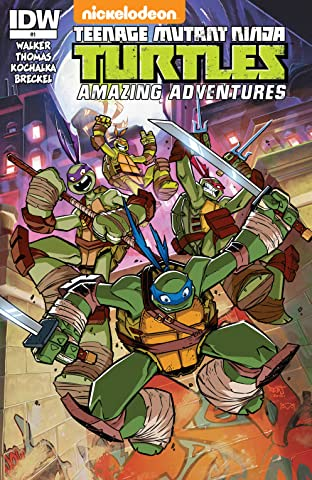 Teenage Mutant Ninja Turtles: Amazing Adventures No.1