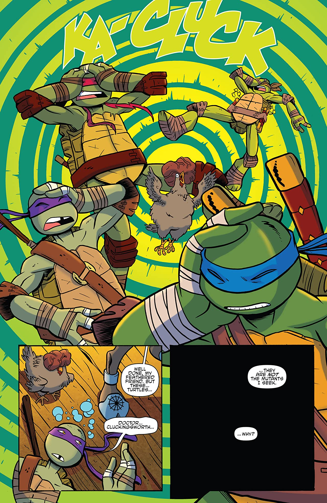 Teenage Mutant Ninja Turtles: Amazing Adventures #1