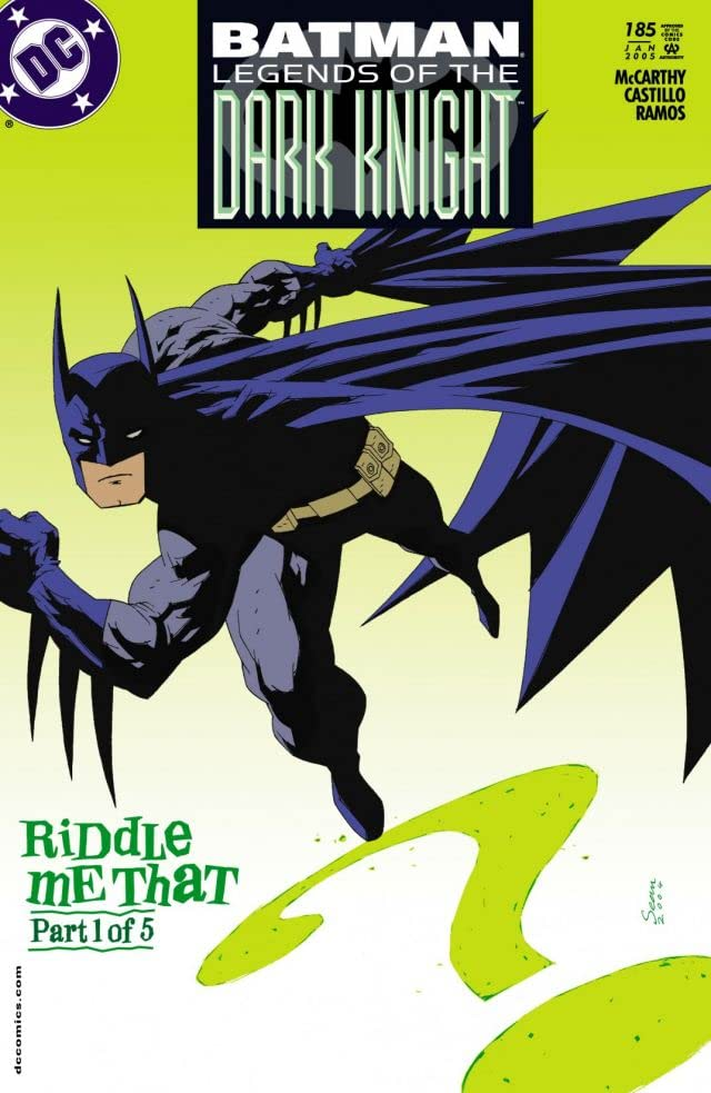 Batman: Legends of the Dark Knight #185