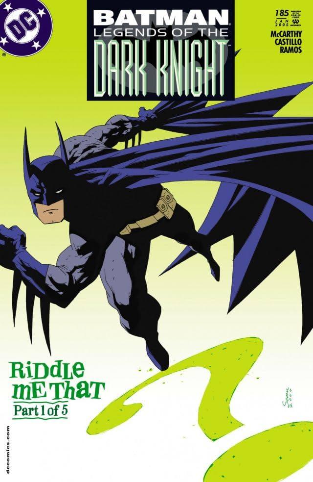 Batman: Legends of the Dark Knight #185