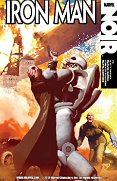 Iron Man Noir #4 (of 4)