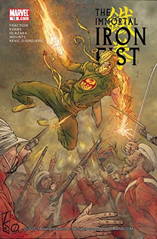 Immortal Iron Fist (2006-2009) No.15