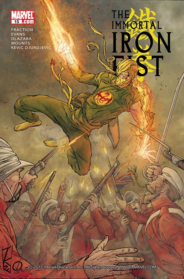 Immortal Iron Fist #15