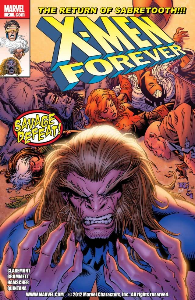 X-Men Forever (2009-2010) #2