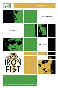 Immortal Iron Fist #16