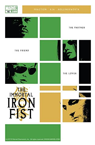 Immortal Iron Fist (2006-2009) No.16
