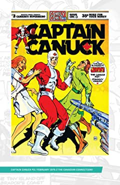 Captain Canuck - Original Series #3