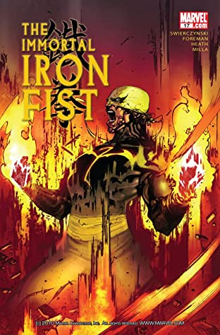 Immortal Iron Fist (2006-2009) No.17