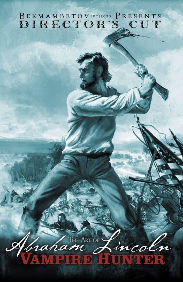 Art Of Abraham Lincoln Vampire Hunter Comics By Comixology