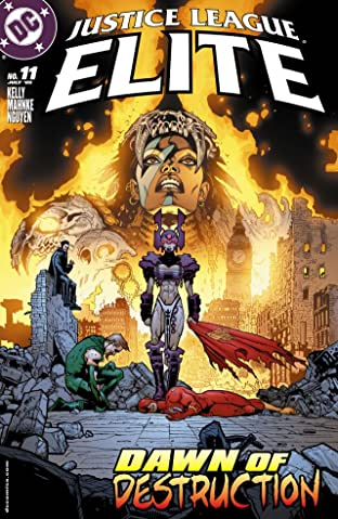 Justice League Elite #11