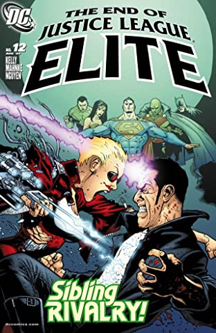 Justice League Elite #12