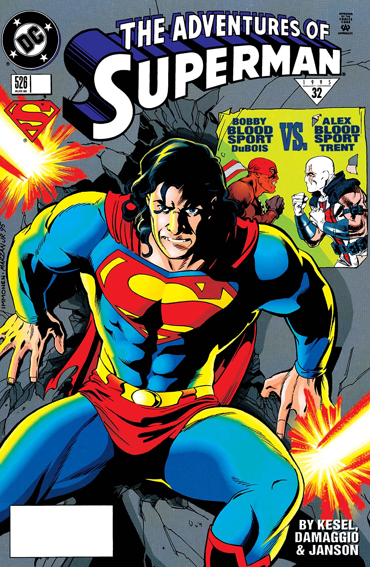 Adventures of Superman (1986-2006) #526