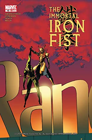 Immortal Iron Fist #19