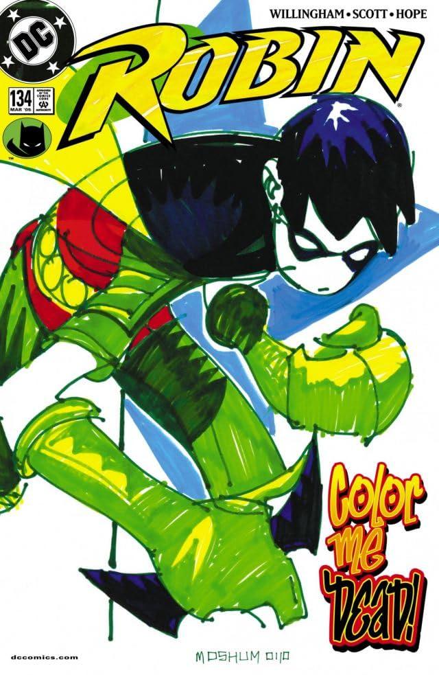 Robin (1993-2009) #134