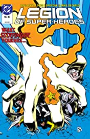 Legion of Super-Heroes (1984-1989) #40