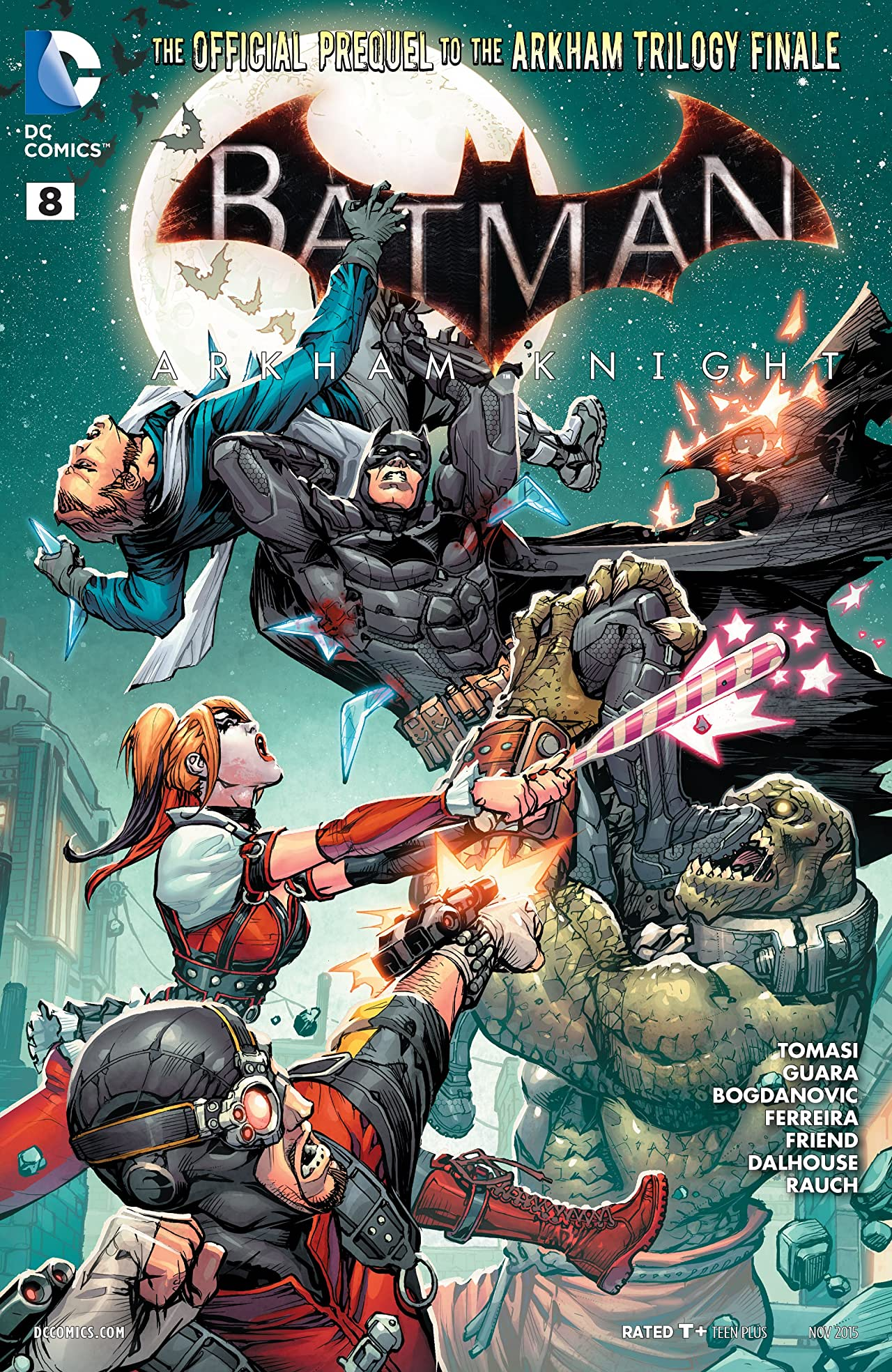 Batman: Arkham Knight (2015-2016): Print Version #8