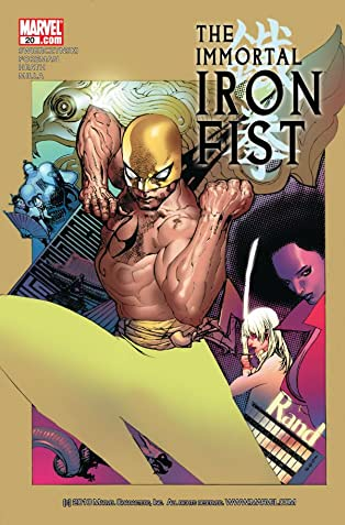 Immortal Iron Fist (2006-2009) #20