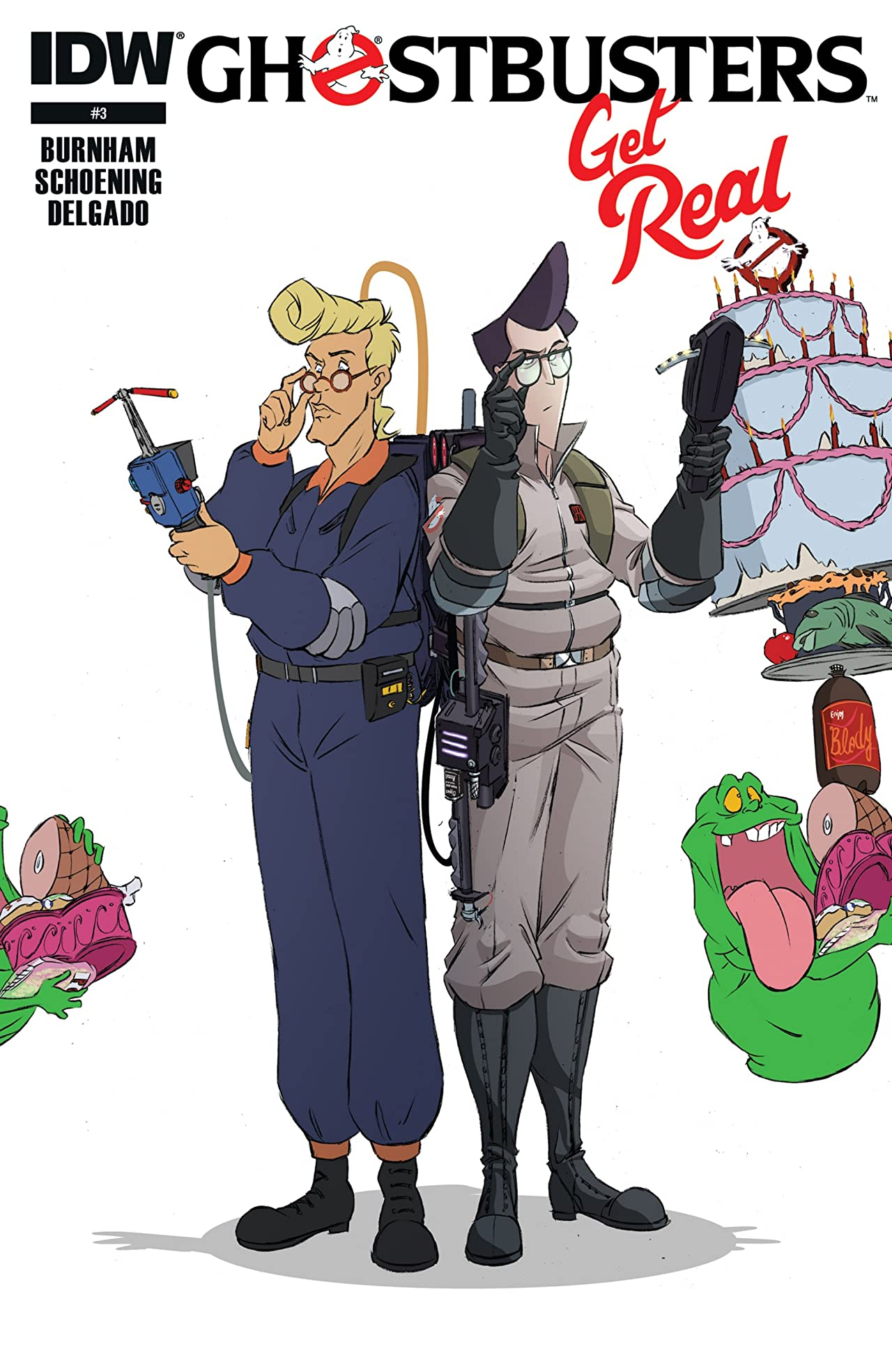 Ghostbusters: Get Real #3 (of 4)