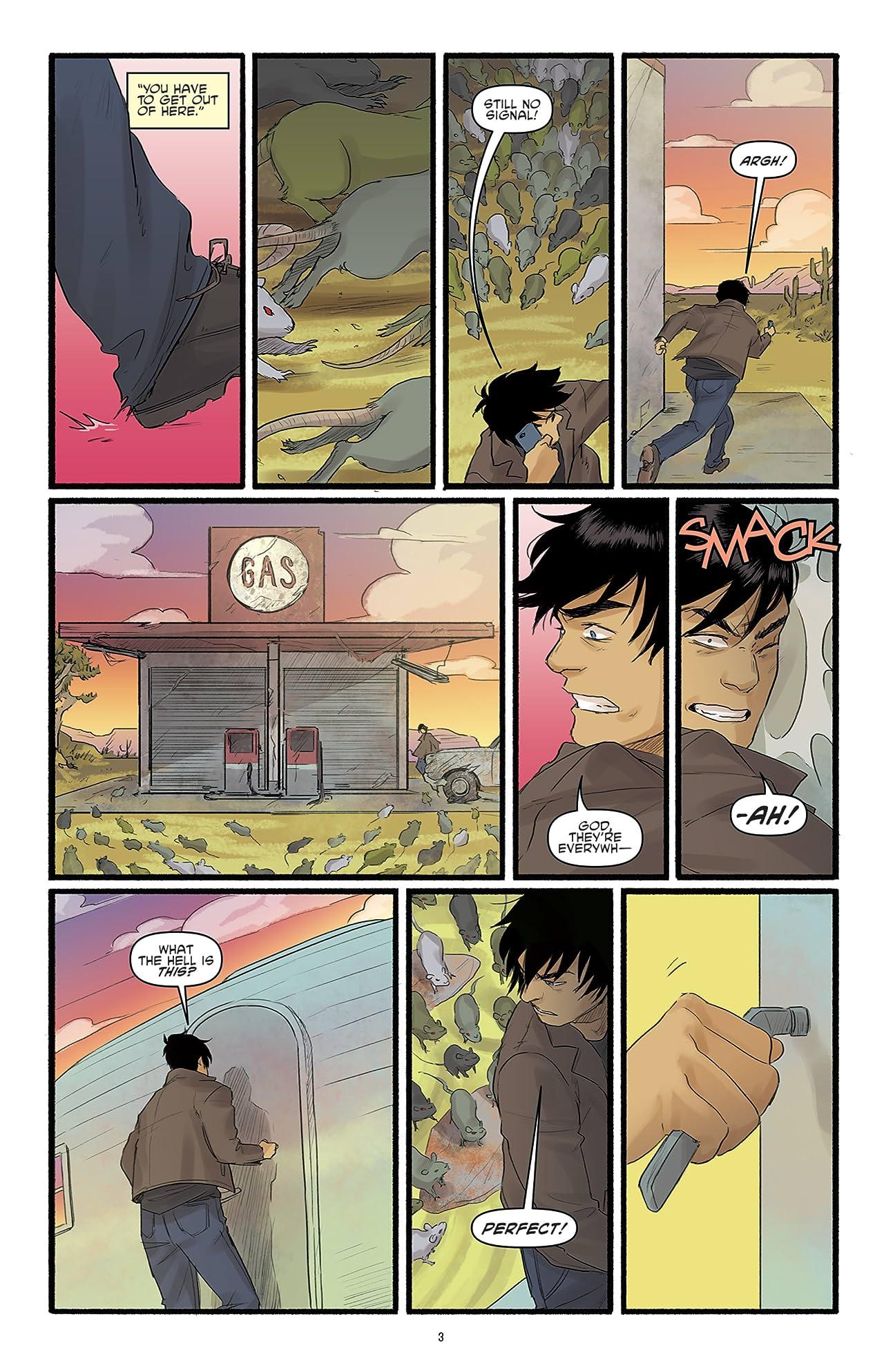 Teenage Mutant Ninja Turtles: Casey & April #3 (of 4)