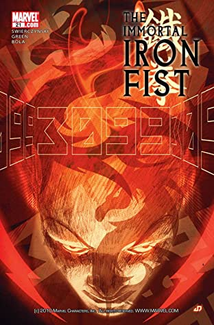 Immortal Iron Fist #21