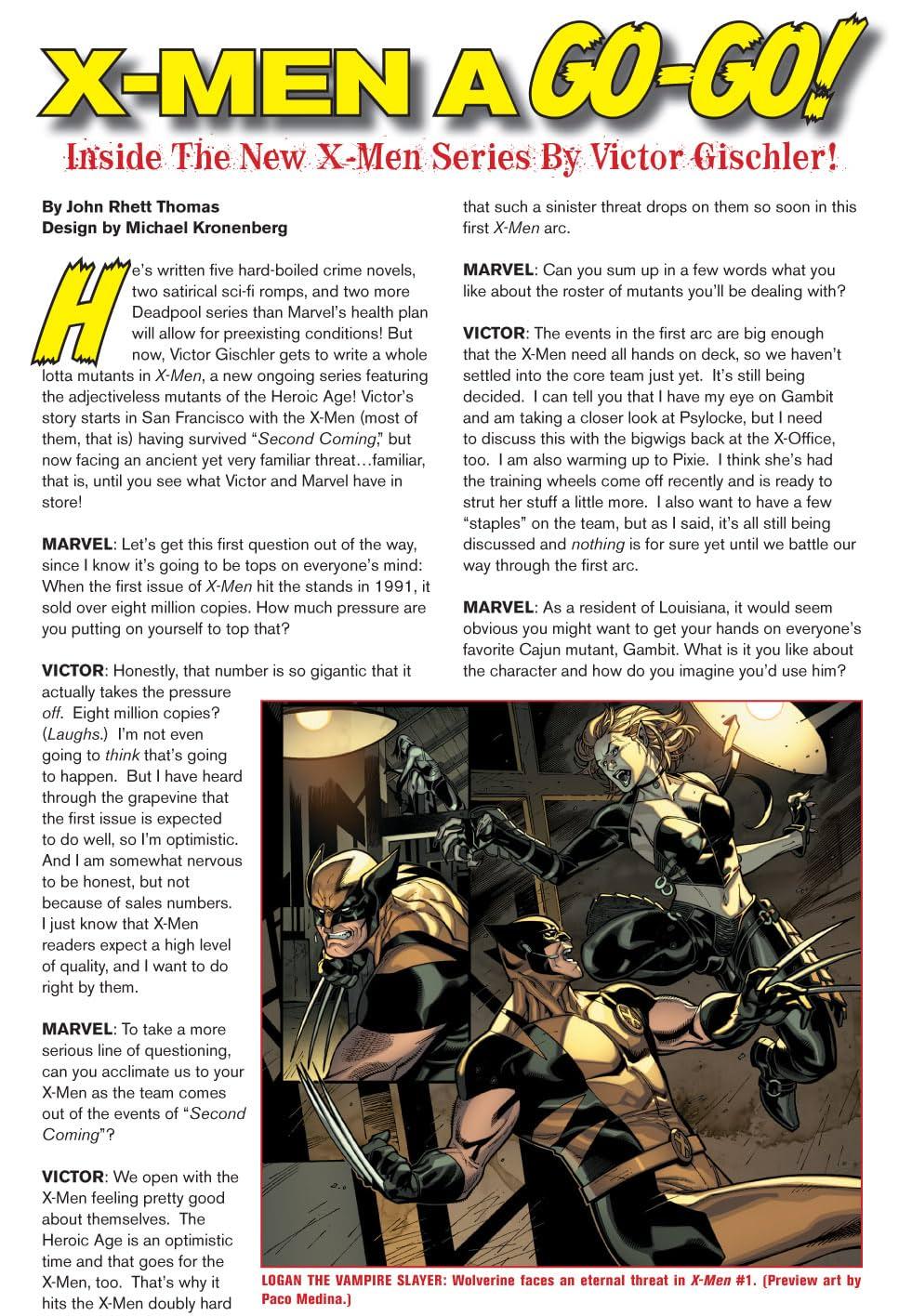 X-Men: Curse of the Mutants Saga