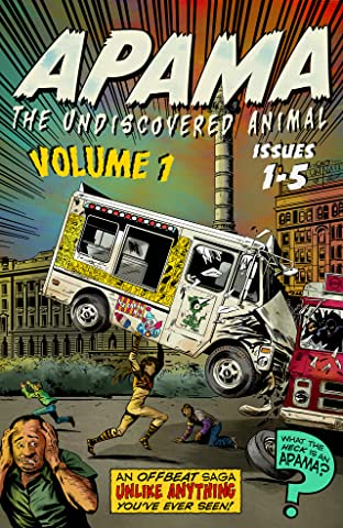 Apama - The Undiscovered Animal Tome 1