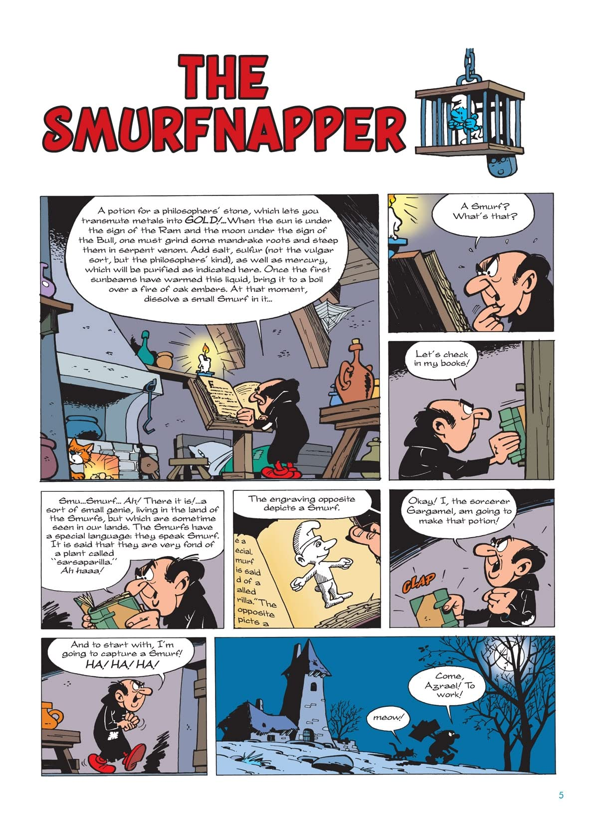 The Smurfs Vol. 9: Gargamel and The Smurfs Preview