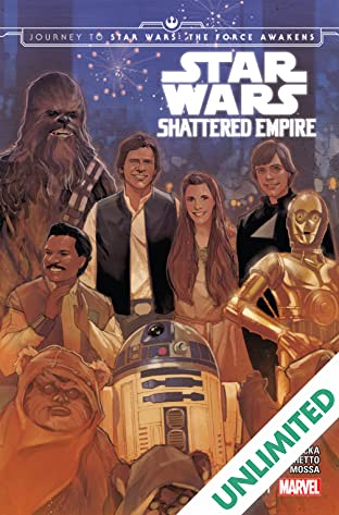 Journey to Star Wars: The Force Awakens - Shattered Empire #1 (of 4)
