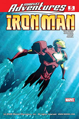 Marvel Adventures Iron Man (2007-2008) No.5