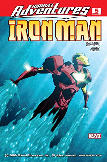 Marvel Adventures Iron Man #5