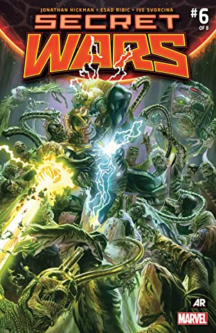 Secret Wars (2015-2016) #6 (of 9)