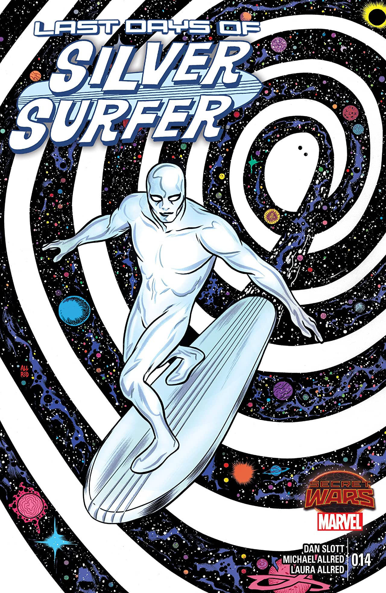 Silver Surfer (2014-2015) #14