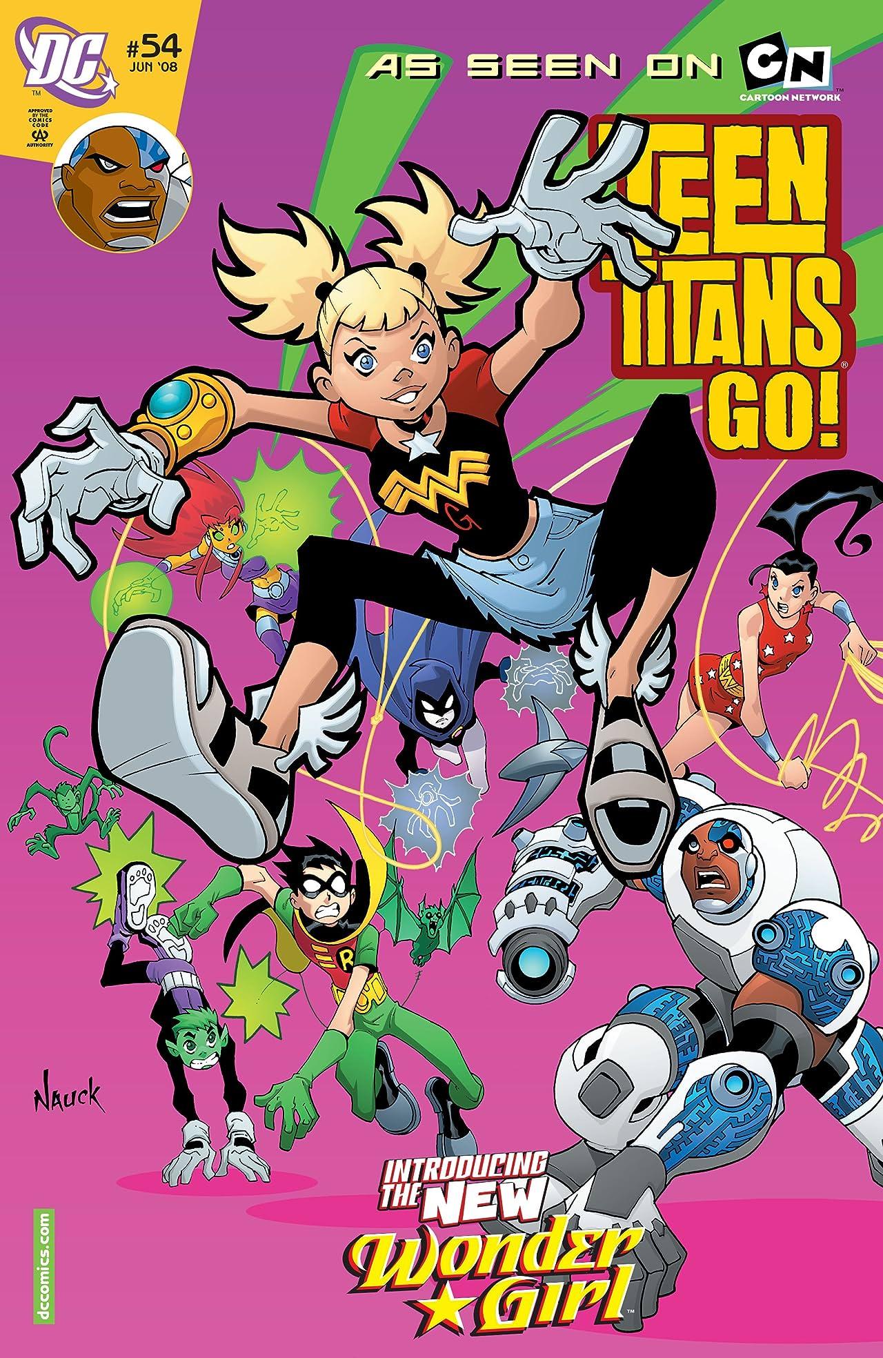 Teen Titans Go! (2004-2008) #54