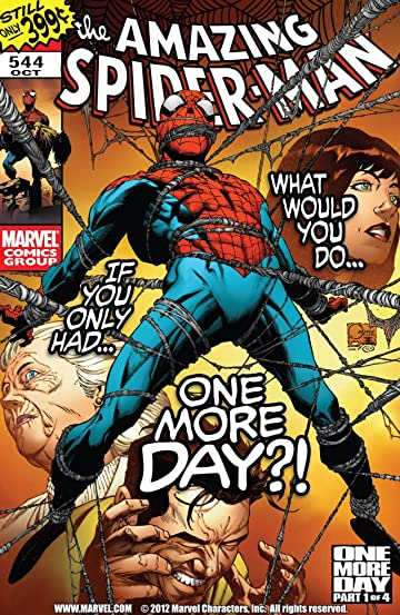 Amazing Spider-Man (1999-2013) #544