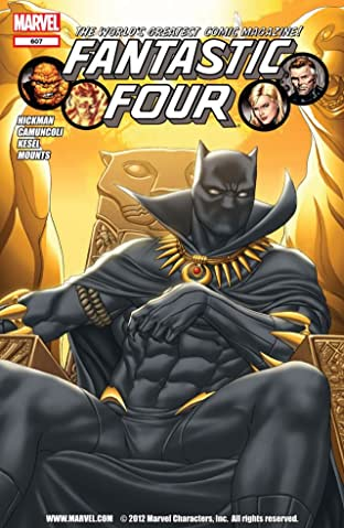 Fantastic Four (1998-2012) No.607