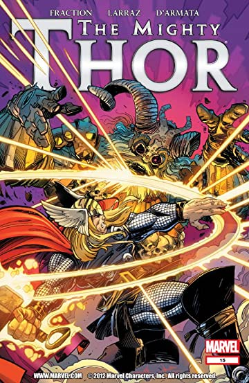 The Mighty Thor (2011-2012) #15