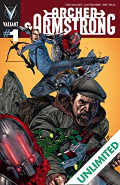 Archer & Armstrong (2012- ) #1: Digital Exclusives Edition