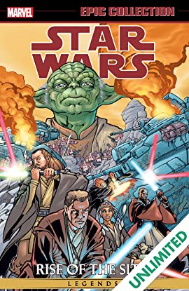 Star Wars Legends Epic Collection: Rise of the Sith Vol. 1