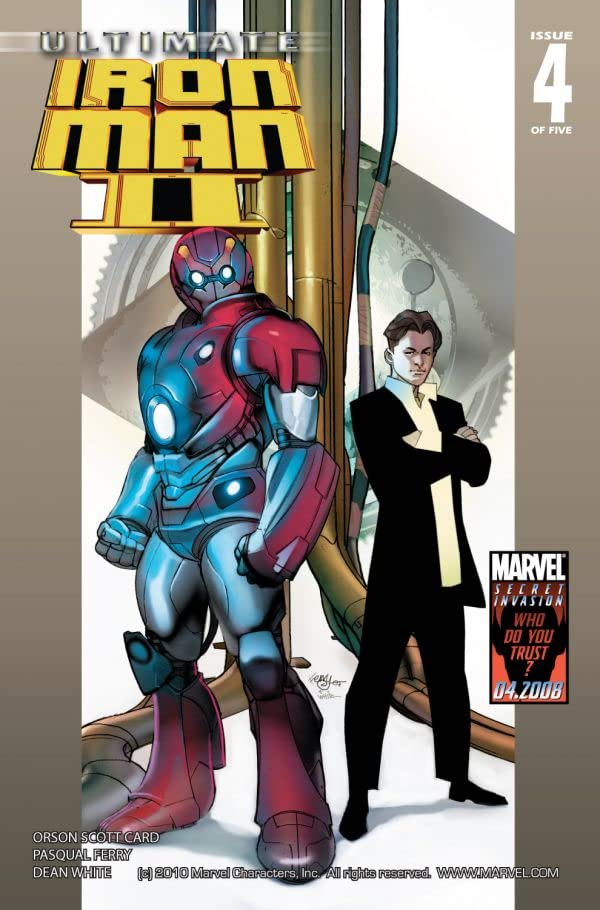 Ultimate Iron Man II #4 (of 5)